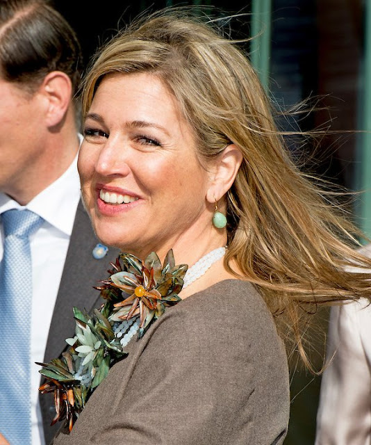 "Dutch Queen Maxima attended the symposium of ""Music Education we do together"" (Muziekeducatie doen we samen)"