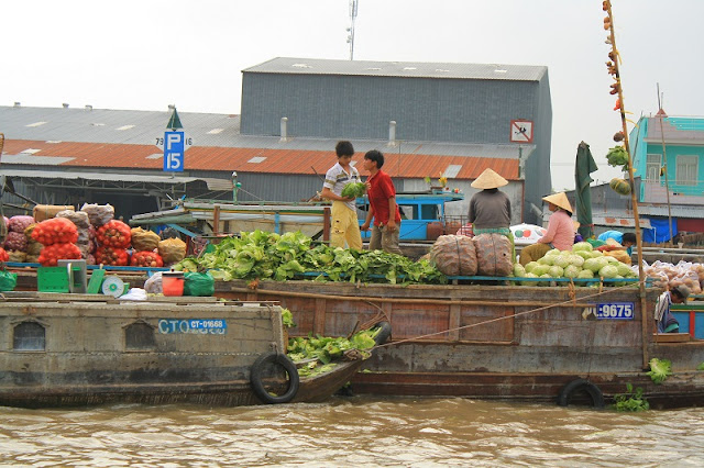Floating Markets – Typical Cultural Feature Of The Mekong Delta