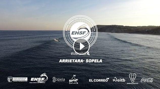 2016 EUSKAL SURF ZIRKUITUKO 2 FROGA ARRIETARA - SOPELA