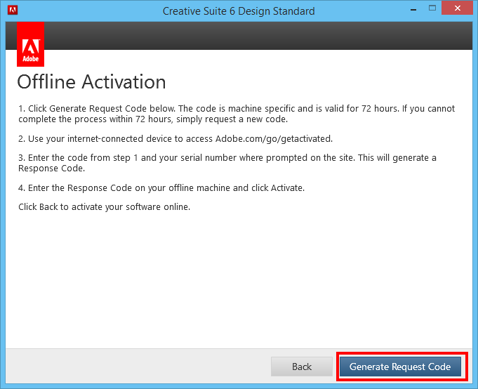 Chriscientfic: Adobe CS6 Registration for Offline Activation