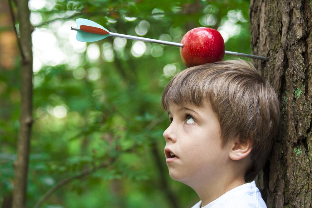 посадочного яблоко на голове картинки ступино