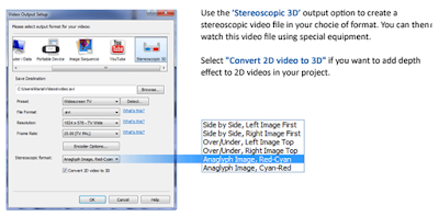 Saving your project to an output format on Videopad Video editing
