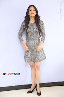 Actress Chandini Chowdary Pos in Short Dress at Howrah Bridge Movie Press Meet  0030.JPG