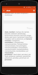 Kamus  Besar Bahasa Indonesia KBBI Android Apk