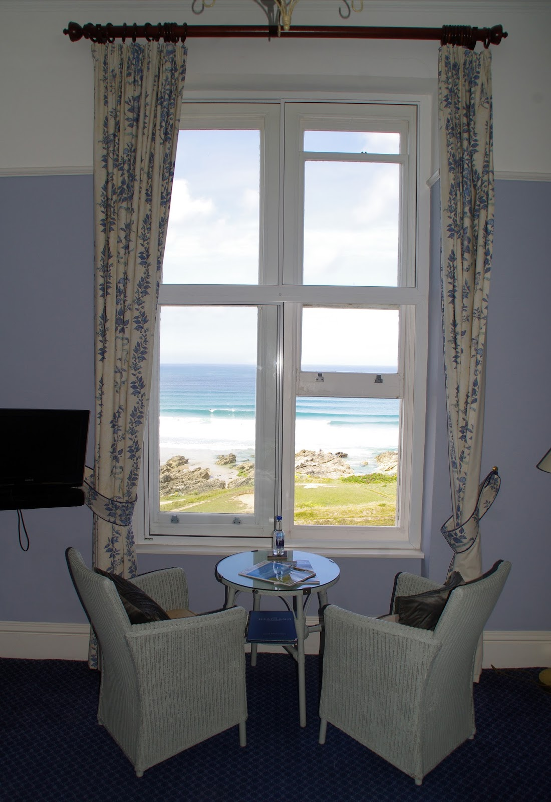 Headland Hotel Newquay Cornwall Room View