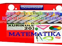 Administrasi pembelajaran Matematika SMP/MTs kelas 7 dan 8 Kurikulum 2013
