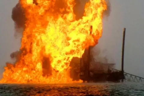 Niger Delta Greenland Justice Mandate claimed responsibility for blowing Afuesere-Ekiugbo delivery facility in Ughelli, Delta State, operated by NPDC