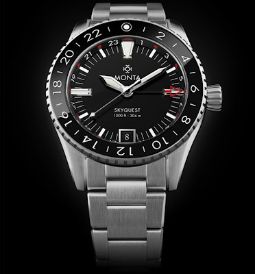 MONTA Skyquest GMT watch