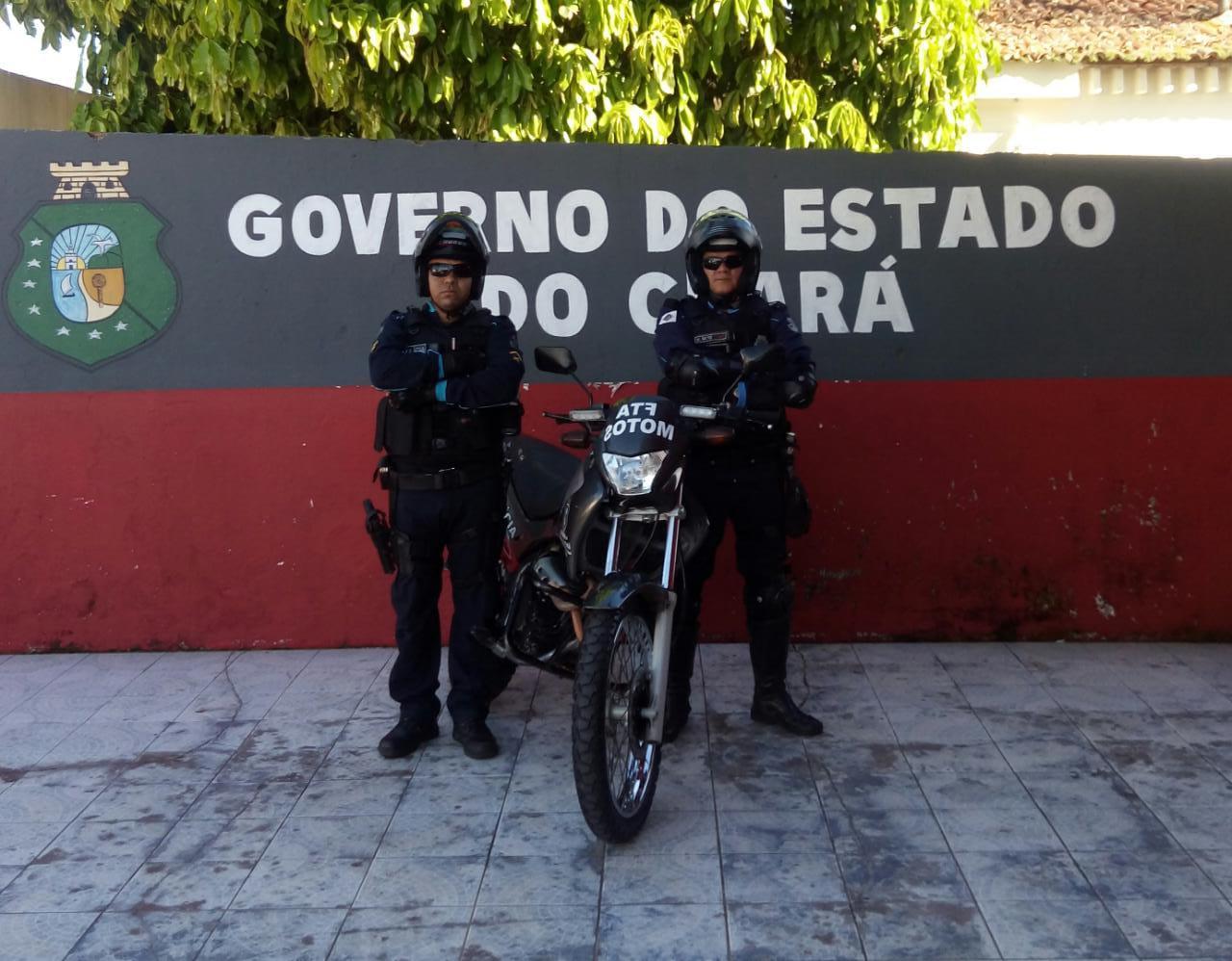 Moto patrulhamento rural é iniciado em Ubajara