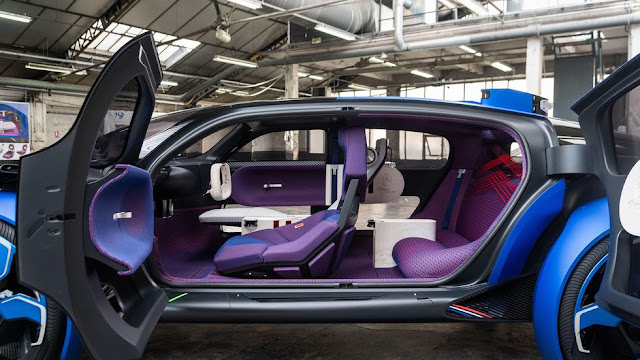 شركة ستروين تطرح احدث انواع سياراتها Citroën 19_19 Concept