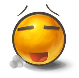 Relieved Emoticon | Symbols & Emoticons
