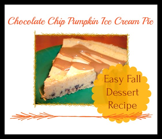 The flavors of vanilla and pumpkin combine with chocolate chips to create a yummy Fall dessert.
