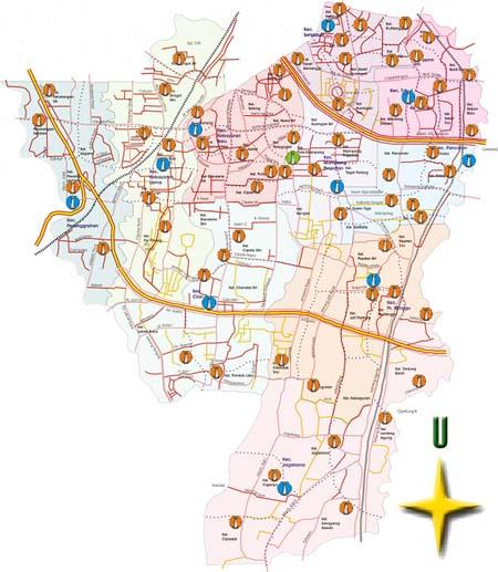 Peta Jakarta Selatan