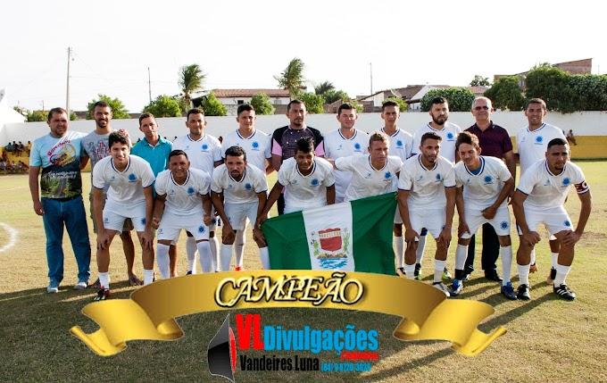 A equipe do Cruzeiro sagrou-se campeã da Copa Emancipação