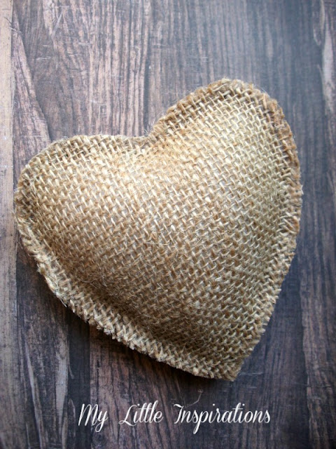 Tutorial Bomboniere Matrimonio Rustico Romantico cuore imbottito - MLI