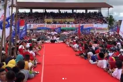 Setelah Iriana, Kini Giliran Pedangdut Inul Kejengkang di Panggung Kampanye Jokowi