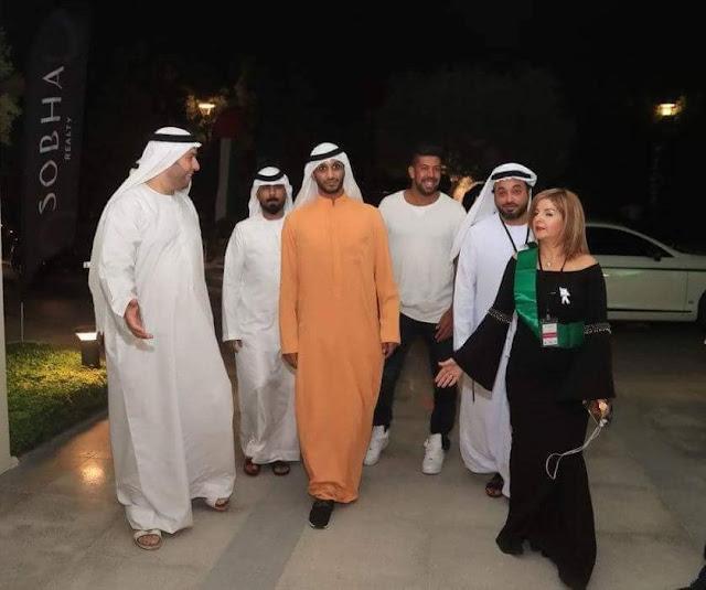 عيال زايد يحتفلون باليوم الوطني السعودي 88