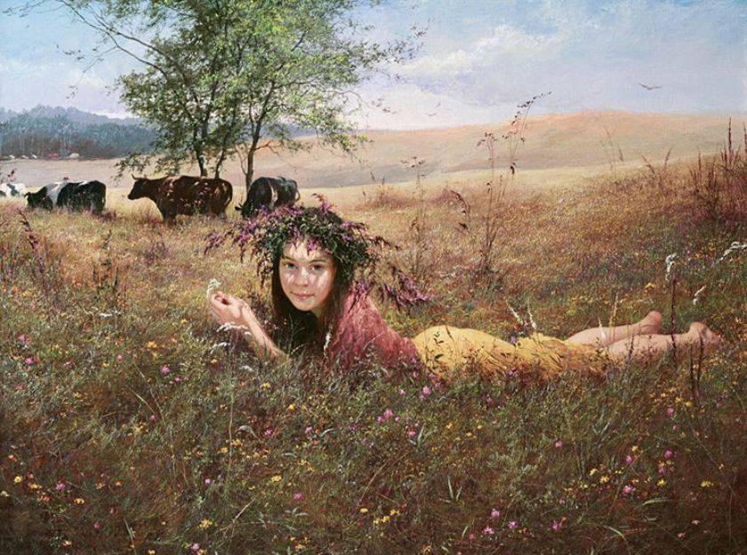 Yuri Klapouh [Юрий Клапоух] ~ Ukrainian Figurative painter