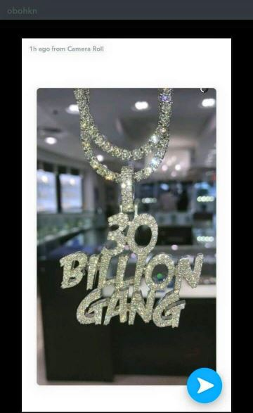 Davido 's 30 billion gang necklace