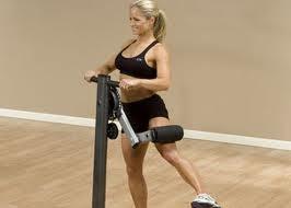 Rutina mujeres gym cadera glúteo en máquina