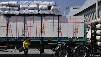 Buriram Home Builders merchants Delivery April 2016