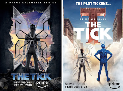 The Tick Season 1.5 Teaser One Sheet Television Posters