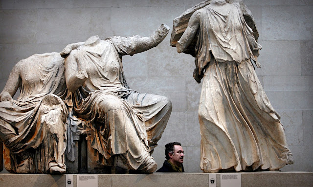 Greek-American politicians seek hearing on Parthenon Marbles
