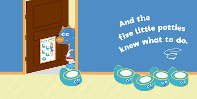 Five Little Potties: Potty Training