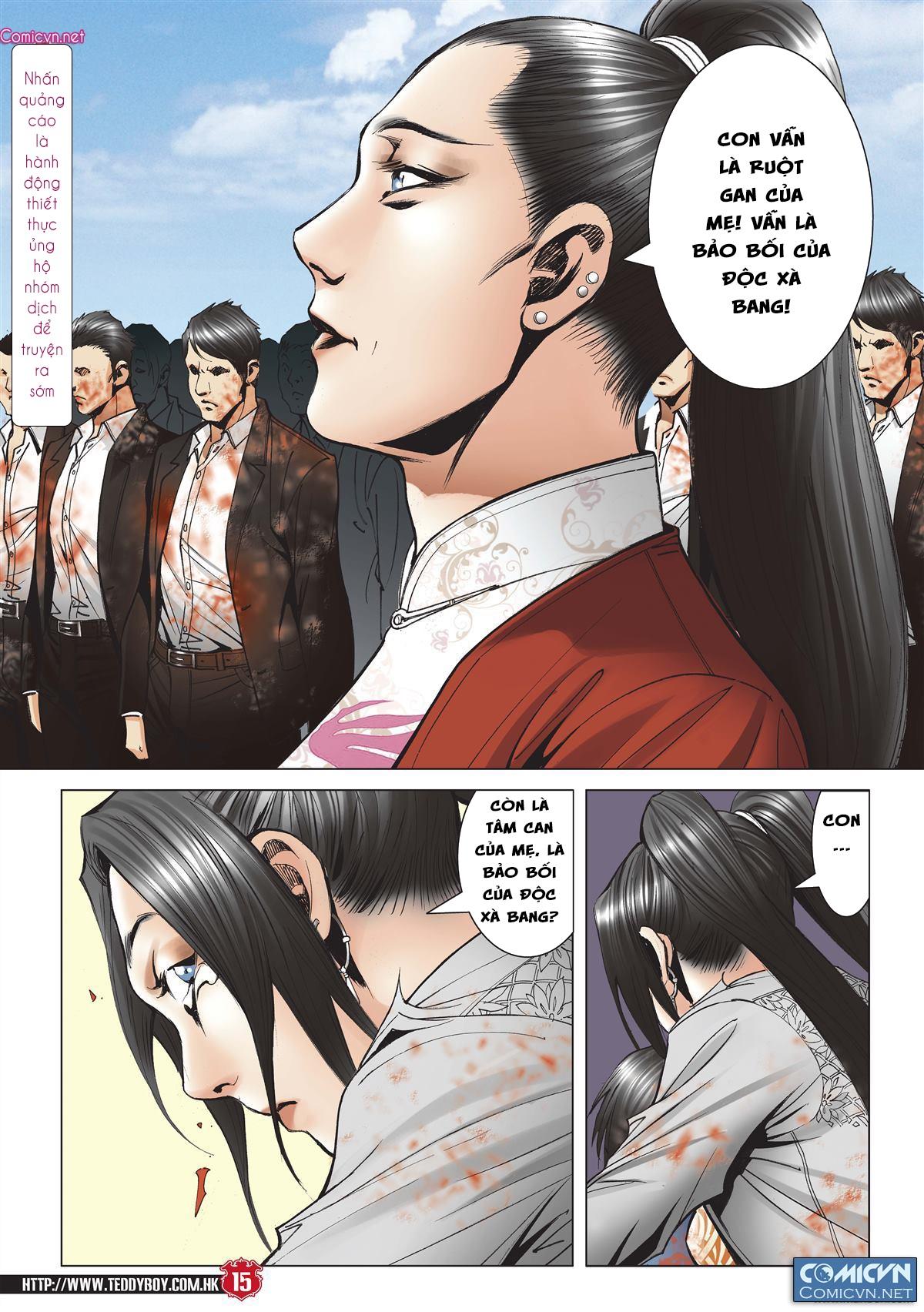 Người Trong Giang Hồ chapter 2001: tự tận trang 14