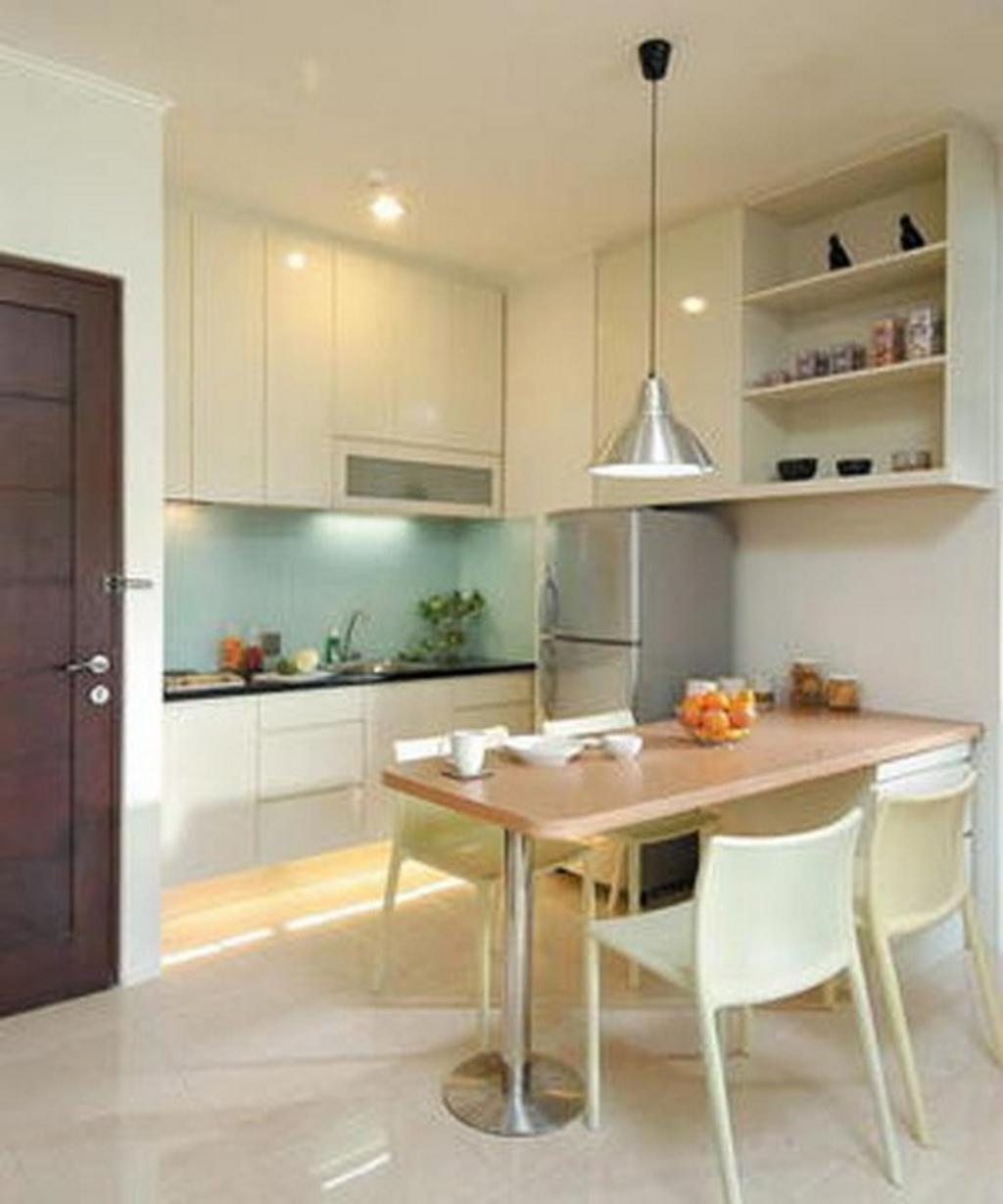 kitchen set dengan meja makan 1