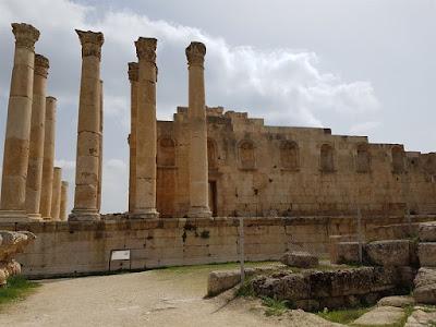 Templo de Zeus en Jerash