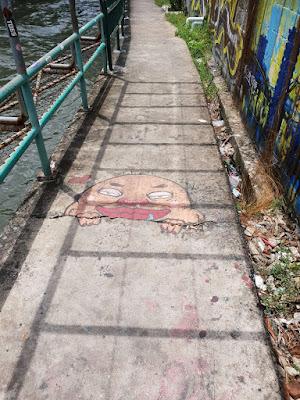 Street Grafitti In Bangkok Thailand