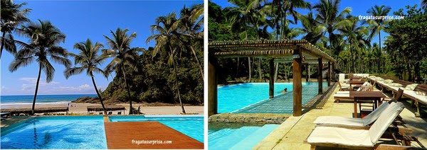 Hospedagem em Itacaré - piscina do Itacaré Eco Residence, Praia de São José