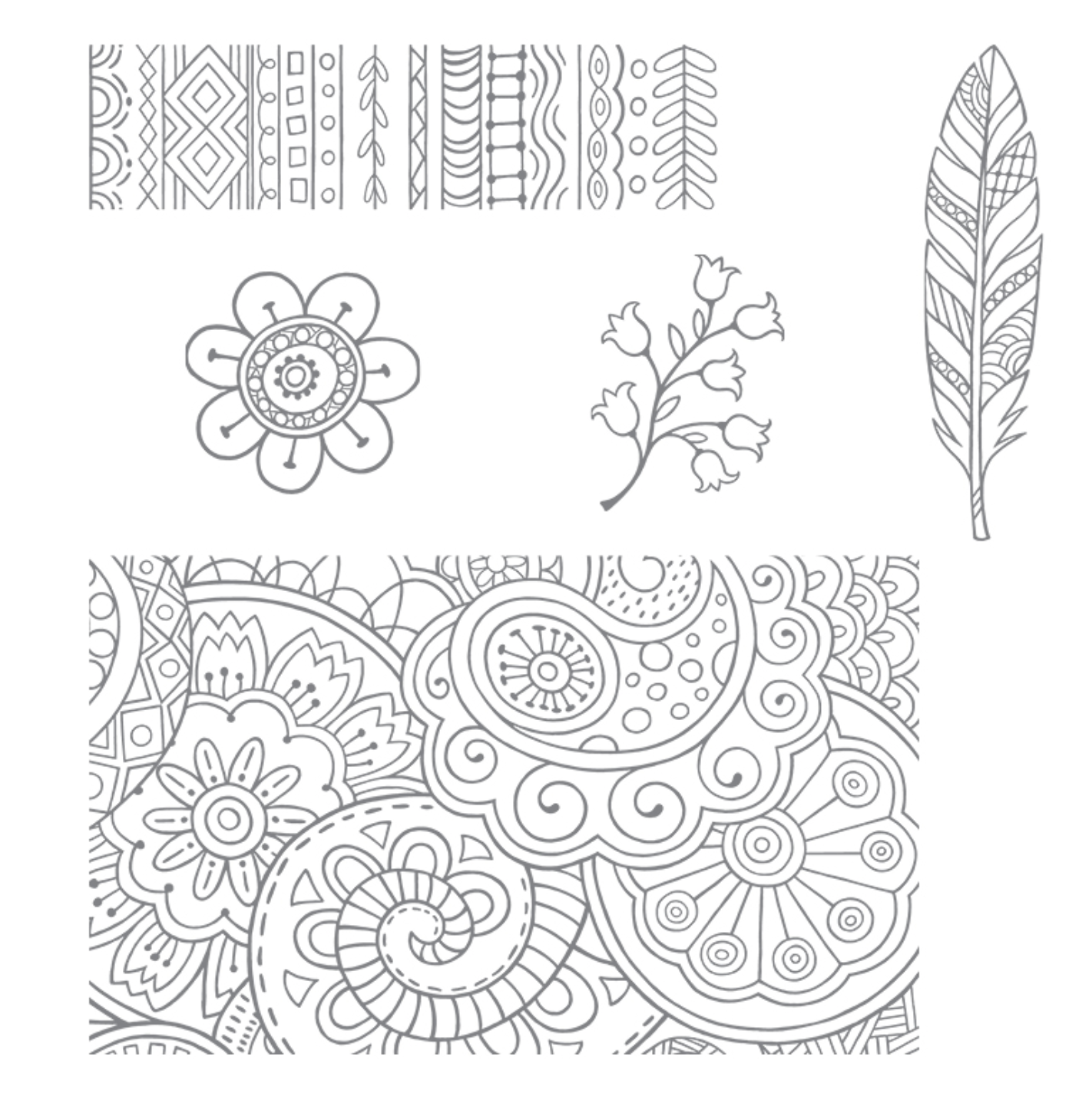 Linda Dalke: Clean and Simple Colouring with the Hello Colour Stamp set