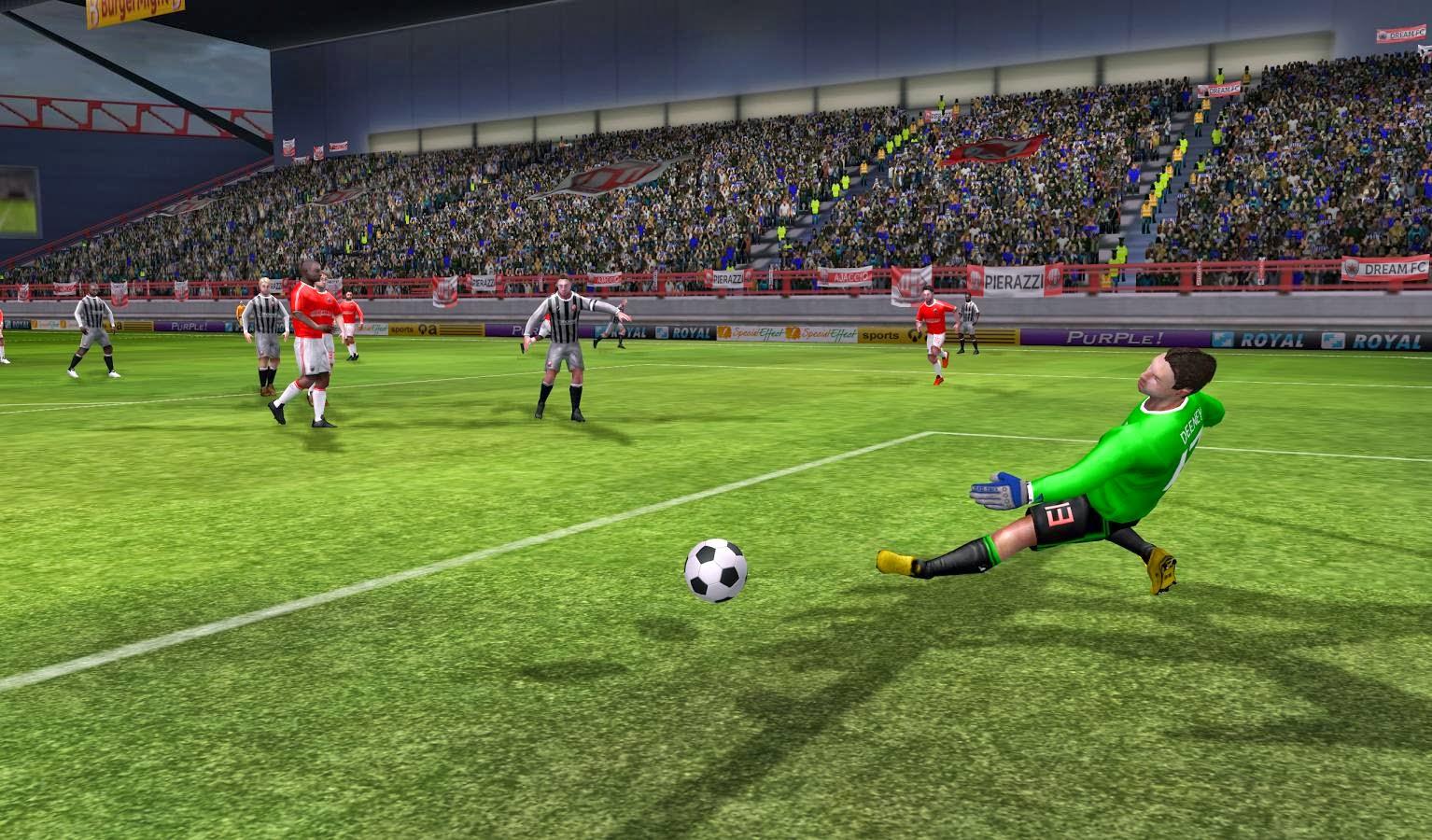 Dream League Soccer 1 55 MOD APK+DATA (Unlimited Gold Coins