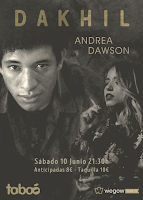 Concierto de Dakhil y Andrea Dawson en Sala Taboó