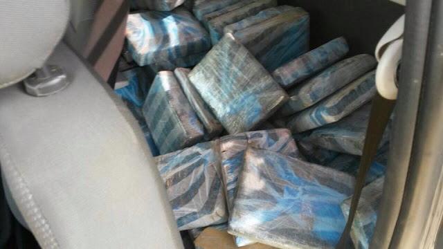 PRF apreende quase 200 Kg de Maconha na Regis Bittencourt  em Jacupiranga