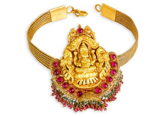 Indian Jewellery And Clothing Temple Jewellery With