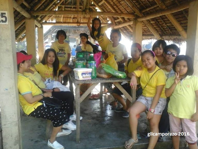 Camporazo family outing 2016 in yellow tshirt