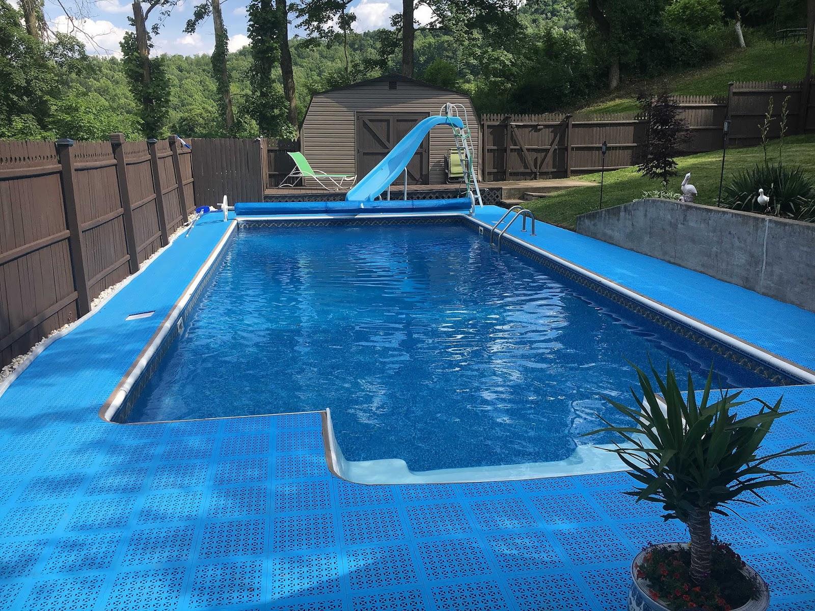 rectangle rhino floor pool itm padding liner for guard swimming pools protector shield intex