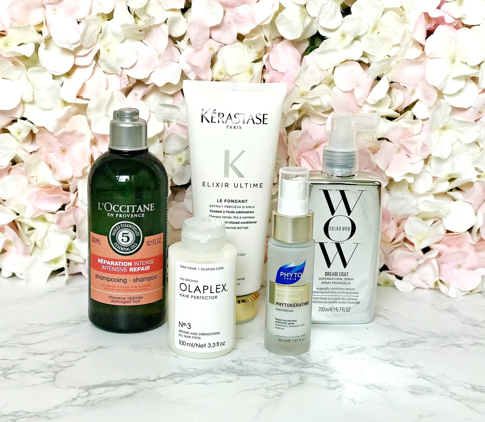 Haircare favourites for dry, frizzy hair