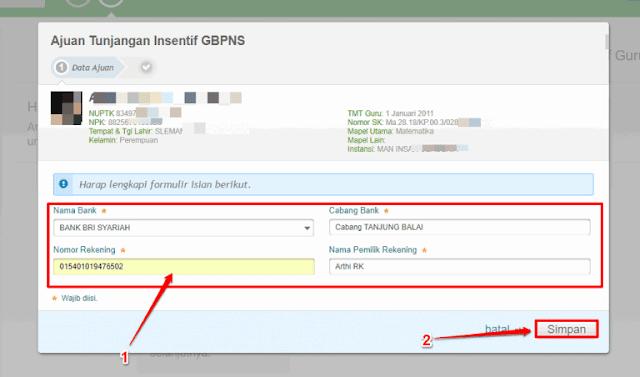 Cara Mudah Mengajukan Tunjangan Insentif GBPNS Pada Simpatika 5