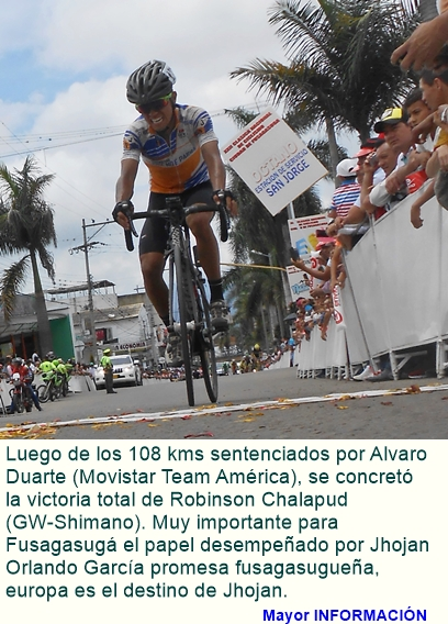 Cumplida la XXII Clásica Nacional de Ciclismo Ciudad de Fusagasugá.