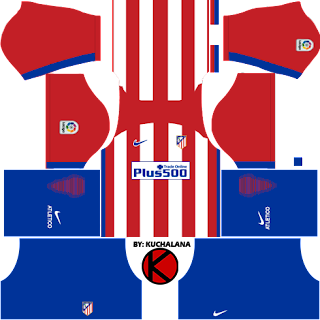 Atlético Madrid Home Kits