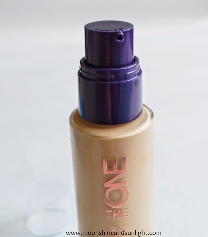 """Oriflame """"The One"""" illuskin foundation in Nude beige review ,swatches and FOTD"""