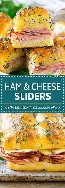 Ham and Cheese Sliders Recipe