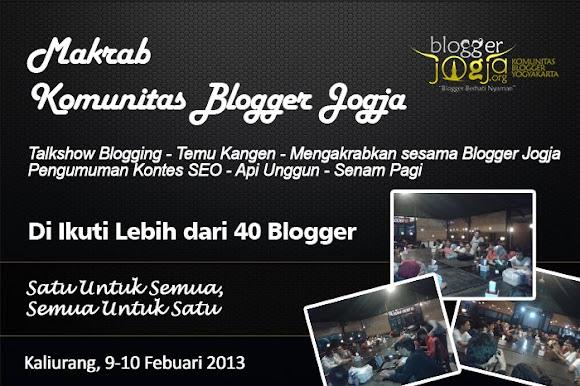 Makrab Komunitas Blogger Jogja