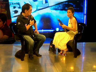Joey De Leon The Buzz guesting, November 27, 2011