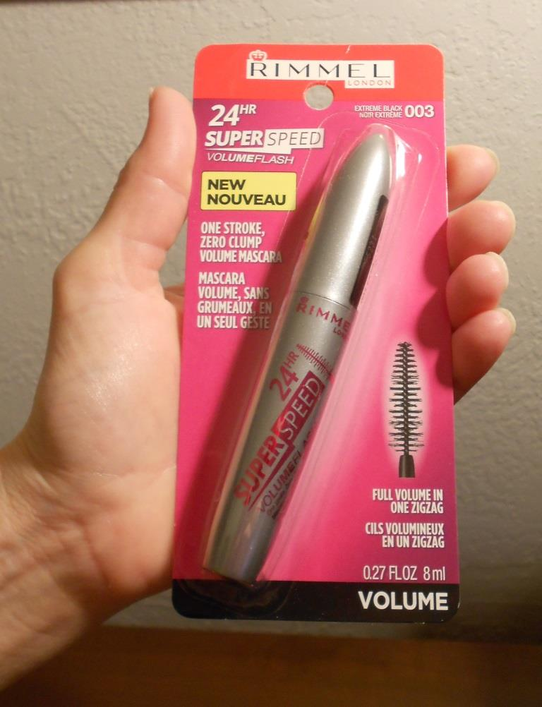Rimmel 24hr Volume Flash Super Speed Mascara Review Beauty Cooks Kisses