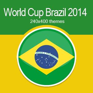 World cup Brazil theme Nokia Asha311 240x400
